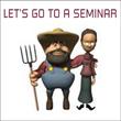 Let's go to a seminar