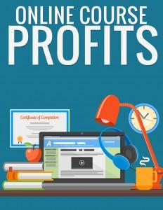 online course profits